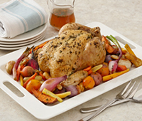 Roasted Chicken and Root Vegetable