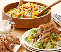 Zesty Lime and Mango Chicken Salad