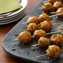 Glazed Party Meatball Appetizers