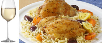LEMON CHICKEN & ORZO ONE PAN MEAL
