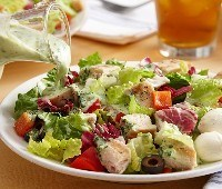 Restaurant Style Chicken Chopped Salad