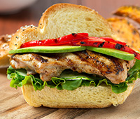 Asian Grilled Chicken Sandwich
