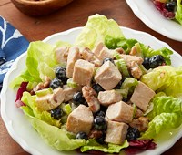 Creamy Maple Chicken and Blueberry Salad