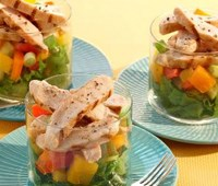 Chopped Gazpacho Chicken Salad
