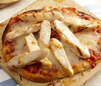 Chicken Marinara Pita Pizzas