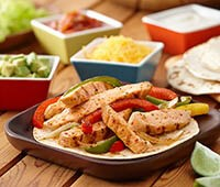 Super Easy Chicken Fajitas