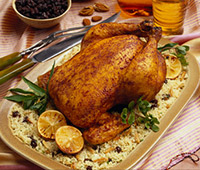 Moroccan Style Roast Chicken