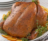 Crispy Roaster with Orange and Thyme