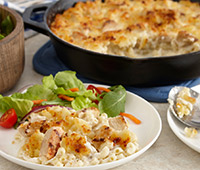 Skillet Chicken Mac and Cheese