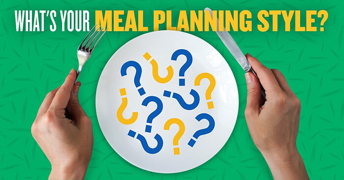Make meal planning easy!