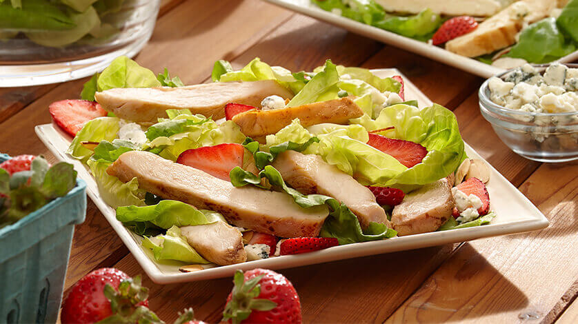 Southern Salad with Strawberries