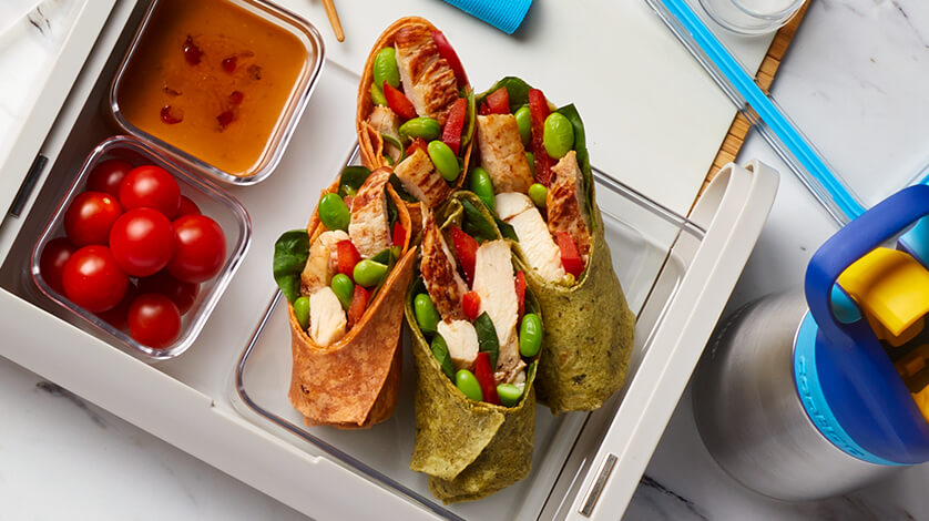 5 Lunch Wraps and Rolls You Can Make Ahead