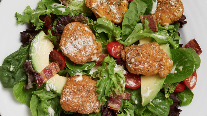 Crispy Chicken Ranch Salad