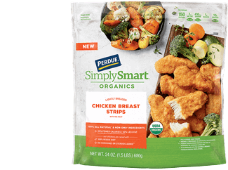 PERDUE® SIMPLY SMART® Organics Breaded Chicken Breast Tenders, Gluten Free