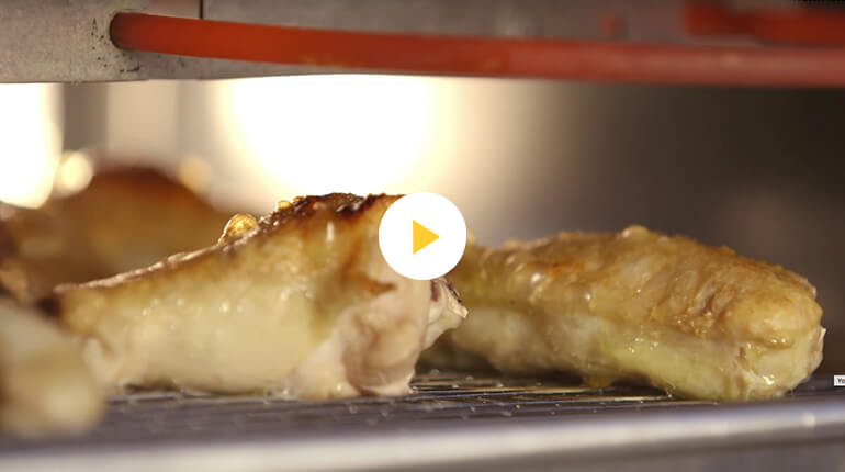Broiling Video