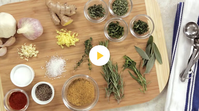 Seasoning Video