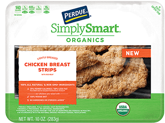 PERDUE® SIMPLY SMART® ORGANICS Gluten Free Breaded Chicken Breast Tenders