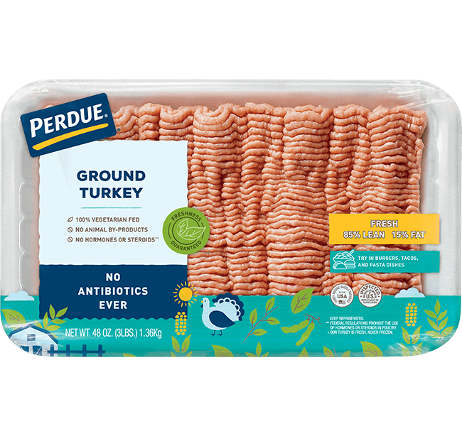 PERDUE® Fresh Ground Turkey, 85% Lean
