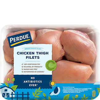 PERDUE® Fresh Boneless Skinless Chicken Thighs