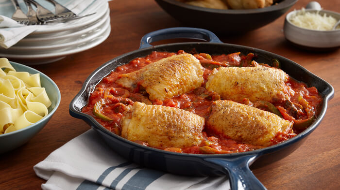 Braised Chicken Cacciatore