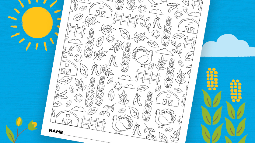 PUZZLE COLORING SHEET