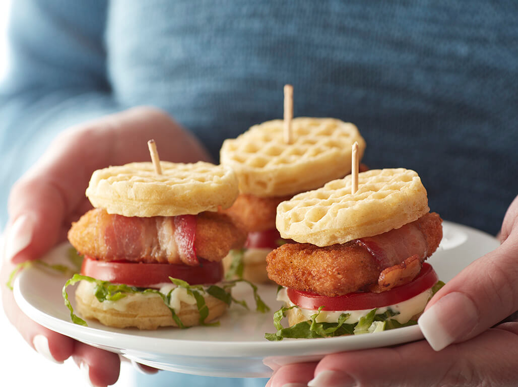Chicken Waffle BLTs