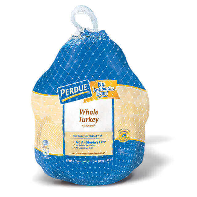 Perdue 174 Whole Turkey Fresh 10 16 Lbs Perdue 174