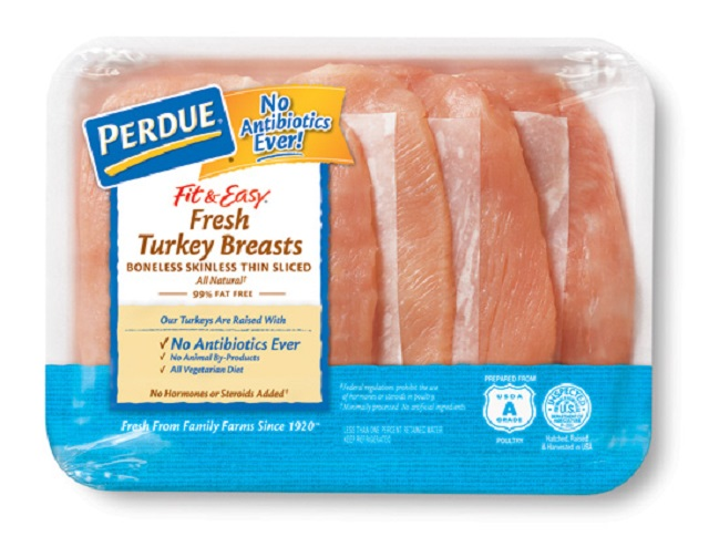 PERDUE® FIT & EASY® Boneless, Skinless Turkey Breasts, Thin Sliced