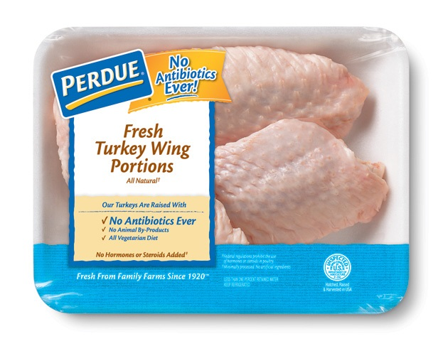 Fresh Turkey Wing Portions