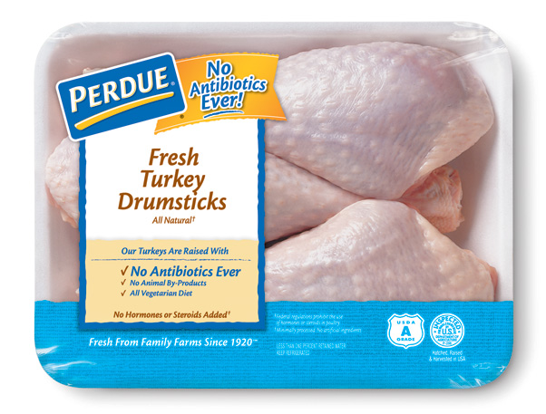 PERDUE® Fresh Turkey Drumsticks