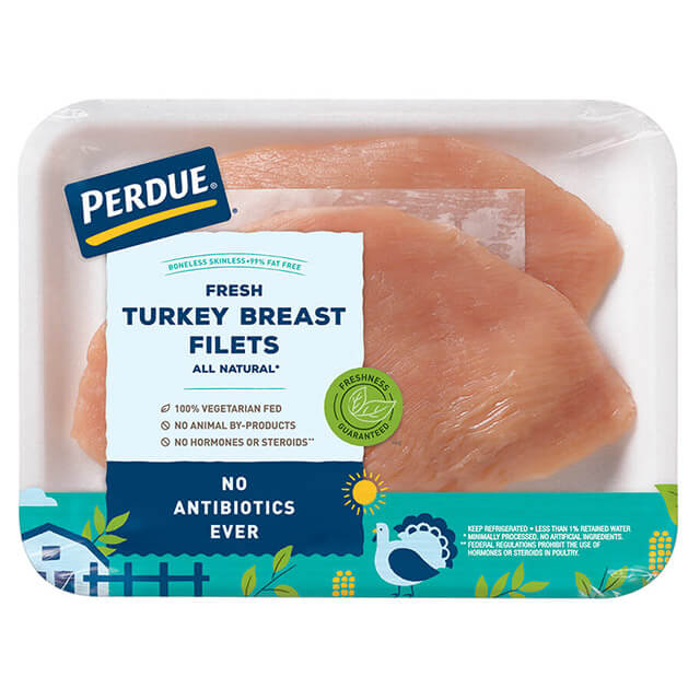 PERDUE® Boneless, Skinless Turkey Breast Filets