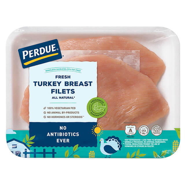 Boneless, Skinless Turkey Breast Filets