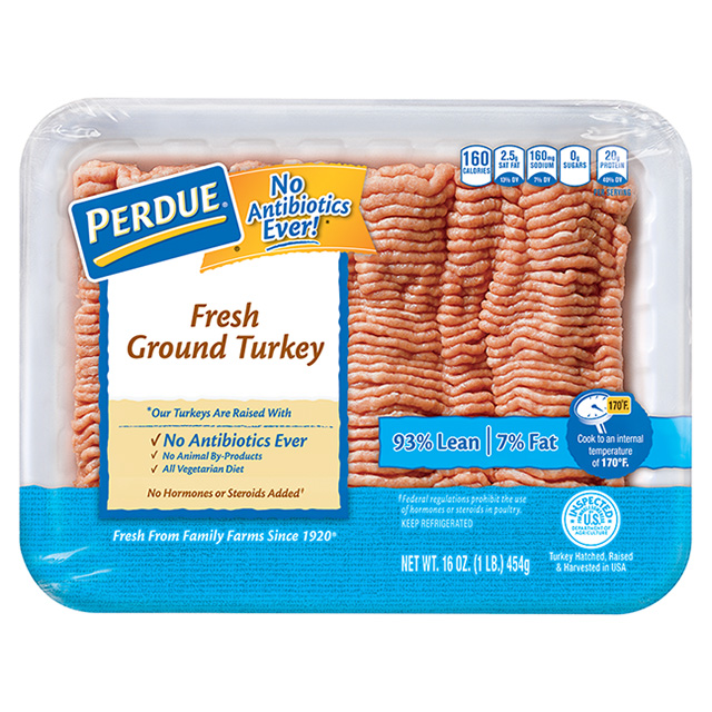 PERDUE® Fresh Ground Turkey, 93% Lean (1 lb.)