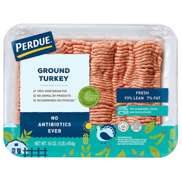 Fresh Ground Turkey, 93% Lean (1 lb.)
