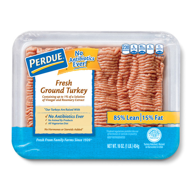 PERDUE® Fresh Ground Turkey (1 lb.)