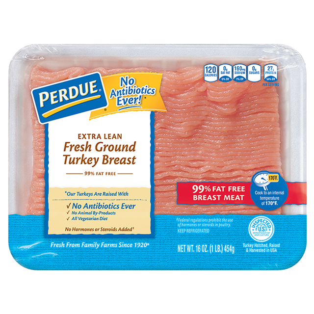 PERDUE® Fresh Ground Turkey Breast (1 lb.)