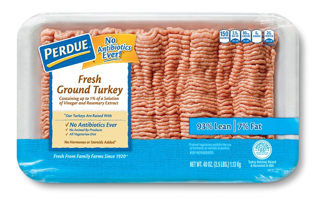 PERDUE® Fresh Ground Turkey, 93% Lean (3 lb. avg.)