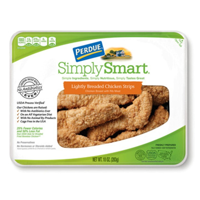 PERDUE® SIMPLY SMART® Lightly Breaded Chicken Strips (10 oz.), Fresh