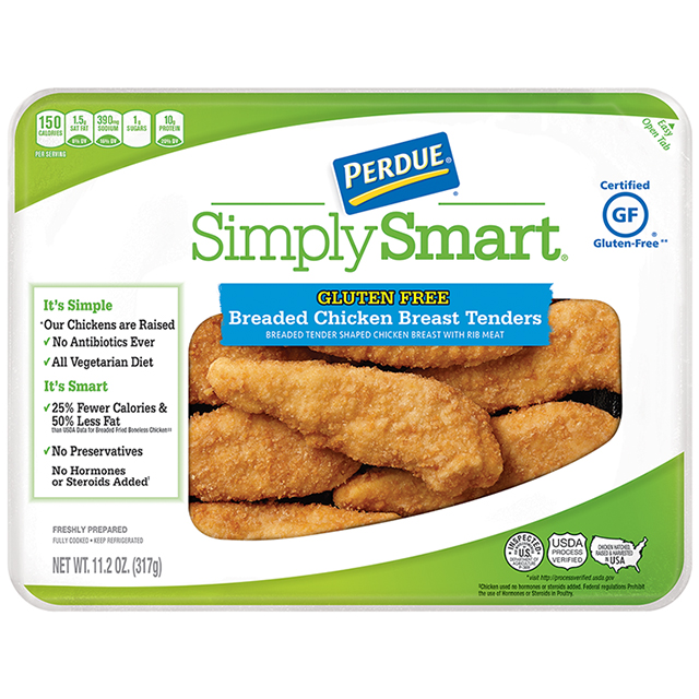 PERDUE® SIMPLY SMART® Gluten Free Breaded Chicken Breast Tenders (11.2 oz.)