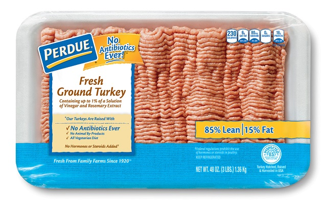 PERDUE® Fresh Ground Turkey (3 lb.)