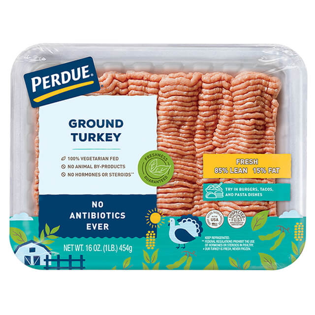 PERDUE® Fresh Ground Turkey, 85% Lean (1 lb.)