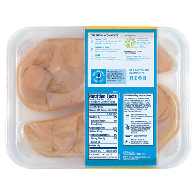 PERDUE® FRESH CUTS™ Diced Chicken Breast, Club Pack