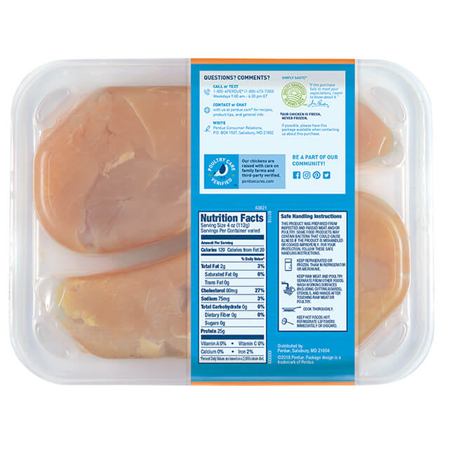 PERDUE® FRESH CUTS™ Chicken Breast Strips, Club Pack