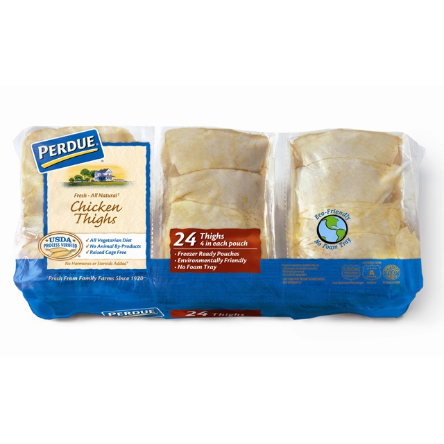 PERDUE® Fresh Chicken Thighs, Freezer Ready Pouches®, for Clubs