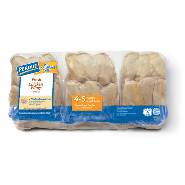 PERDUE® Chicken Wings, Freezer Ready Pouches®, for Clubs
