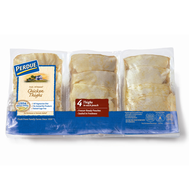 PERDUE® Chicken Thighs, Freezer Ready Pouches®, for Clubs
