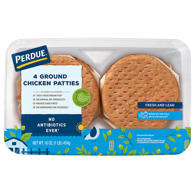 PERDUE® Fresh Ground Chicken Patties (1 lb.)