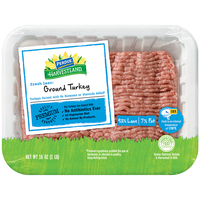 PERDUE® HARVESTLAND® Fresh Ground Turkey