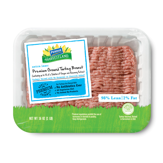PERDUE® HARVESTLAND® Premium Ground Turkey Breast