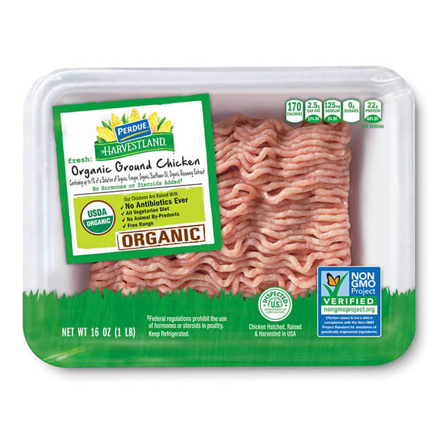 PERDUE® HARVESTLAND® ORGANIC Ground Chicken